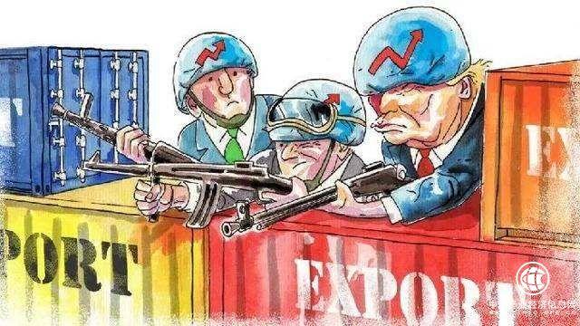 """人民日报:坚持五种思维,打赢""""对美贸易自卫反击战"""""""