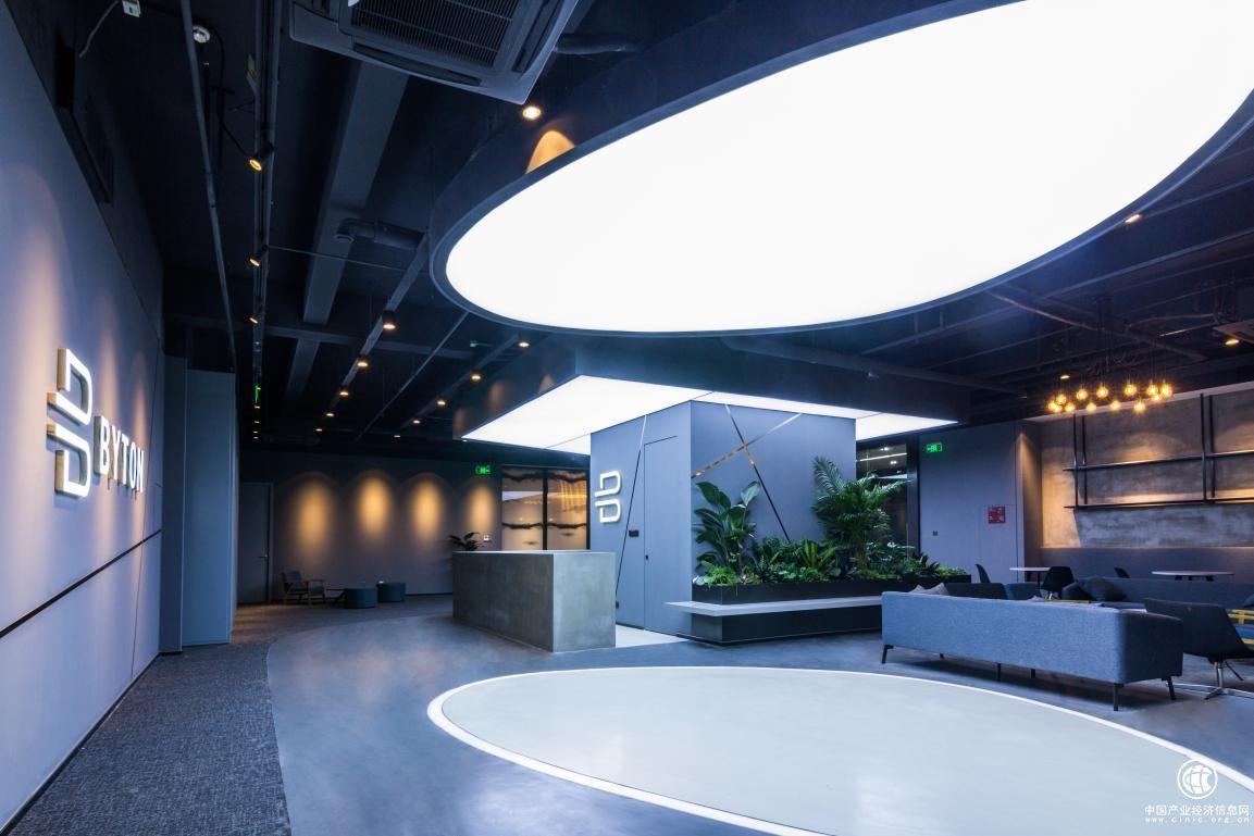 indeco艺格门厅基地工装案例拜腾南京v门厅项目入户圆形工业吊顶图片