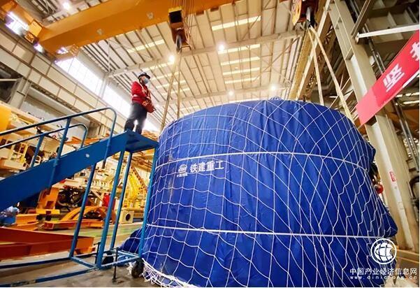 复工首日 中国铁建盾构机发运土耳其