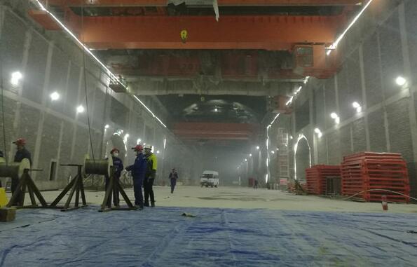 世界在建装机容量最大的抽水蓄能电站复工