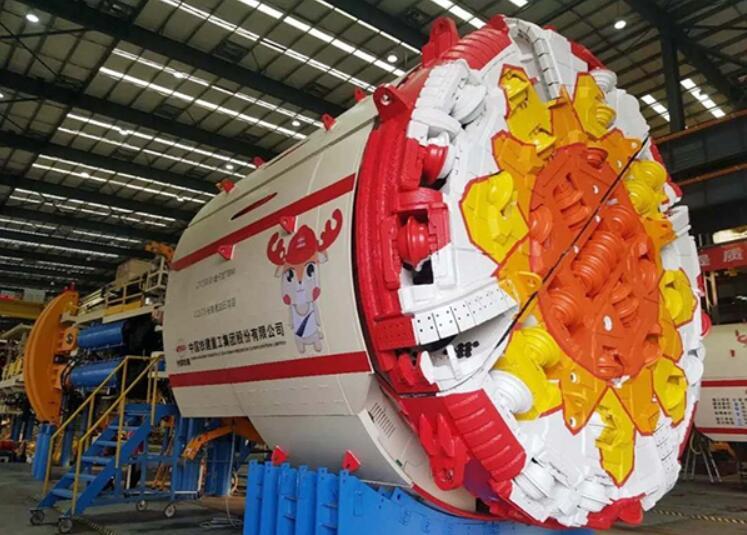 国产首台出口南美洲敞开式岩石隧道掘进机发运