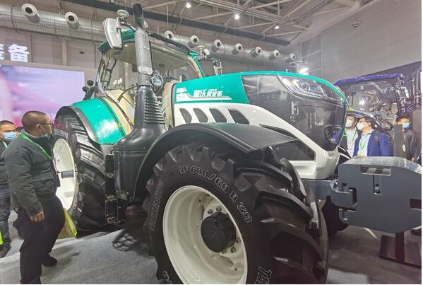 创新引领 驱动变革 雷沃高精尖智能产品亮相国际农机展